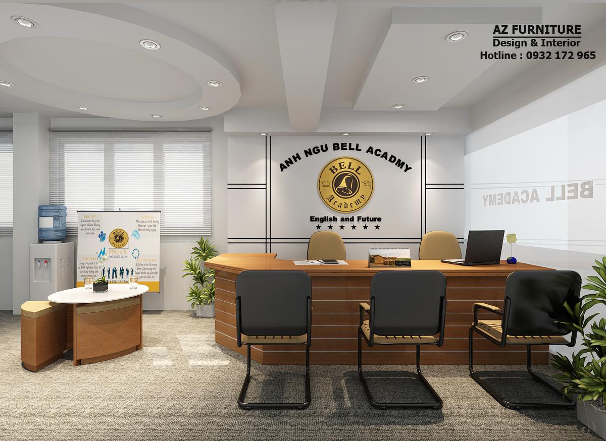 Thiết kế nội thất văn phòng - Trung tâm Anh ngữ Bell