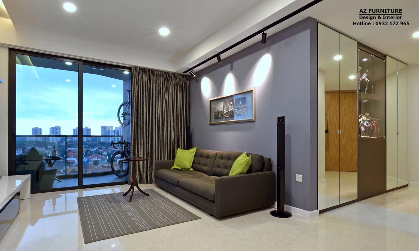 Thiết kế nội thất chung cư đẹp - Hottline: 091 559 1234