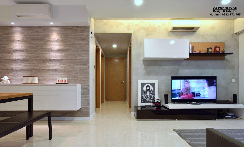 thiết kế chung cư đẹp sang trọng