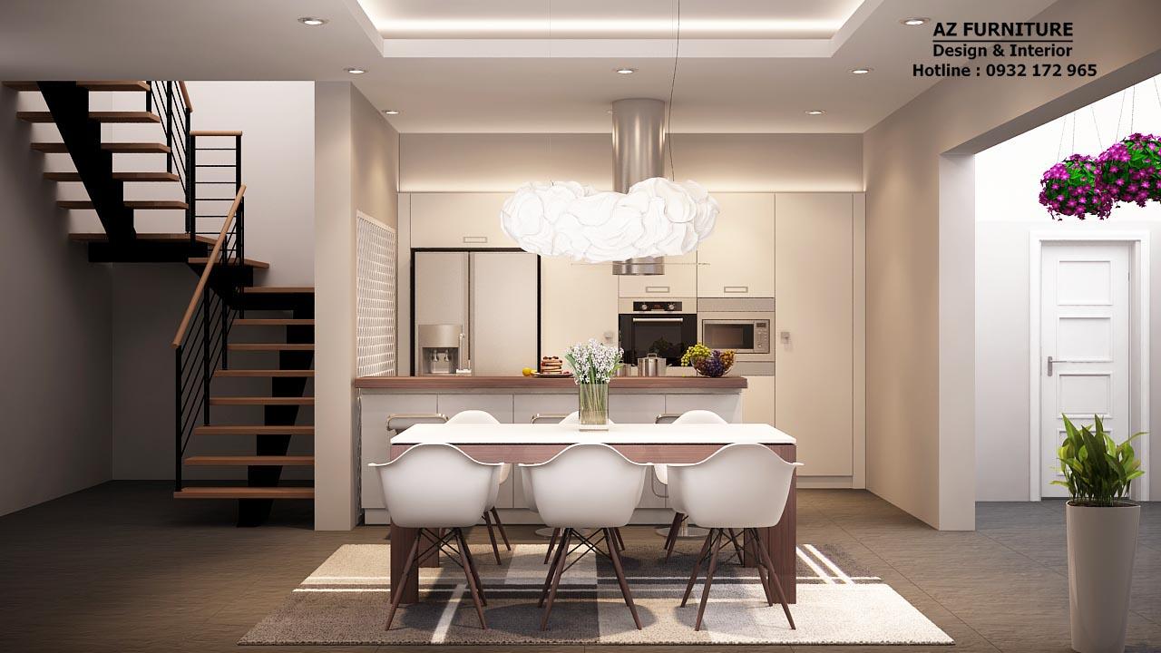 Thiết kế, thi công nội phòng bếp