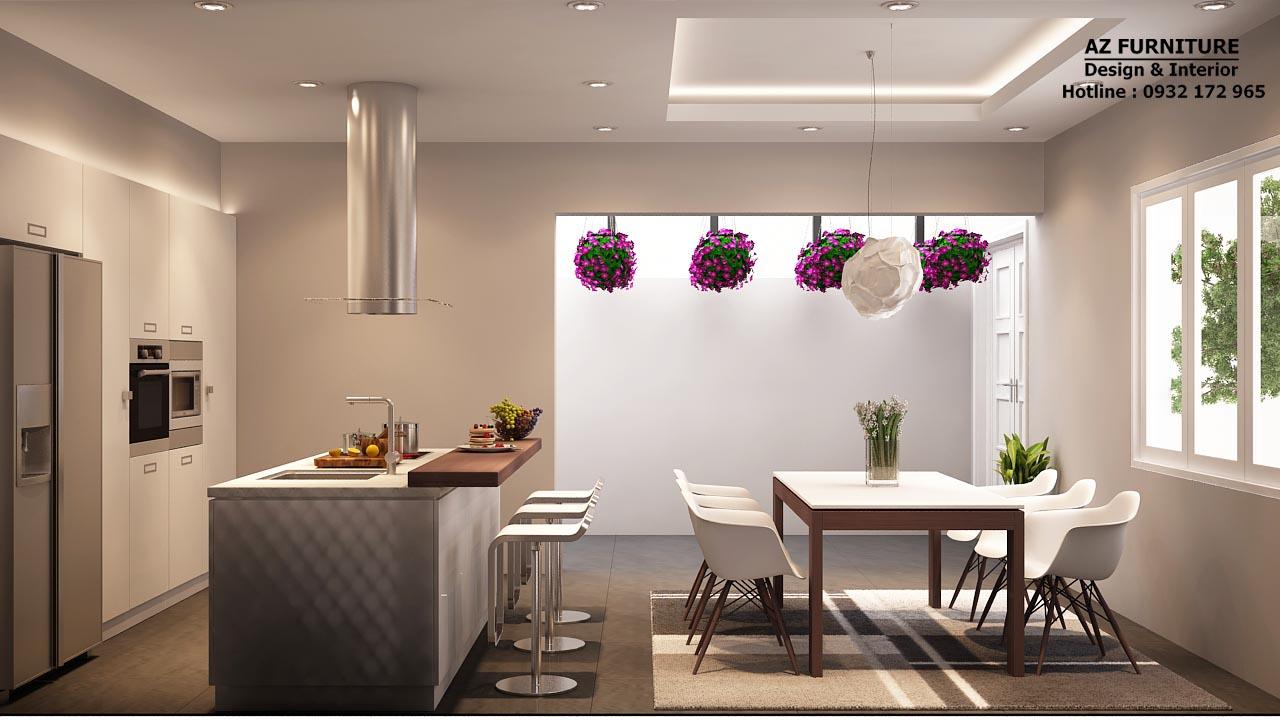 Thiết kế, thi công nội thất phòng bếp