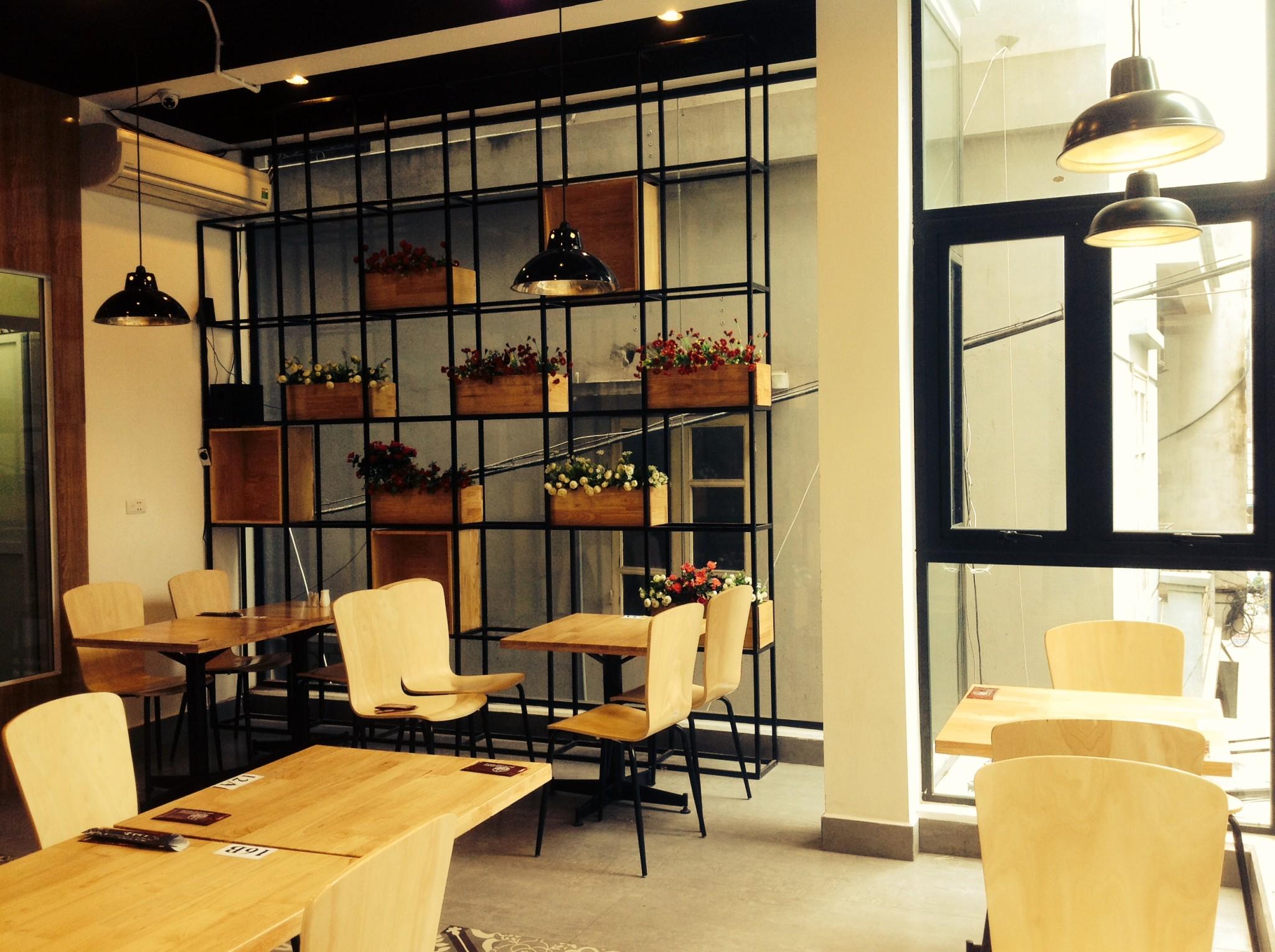 Thiết kế, thi công nội thất nhà hàng