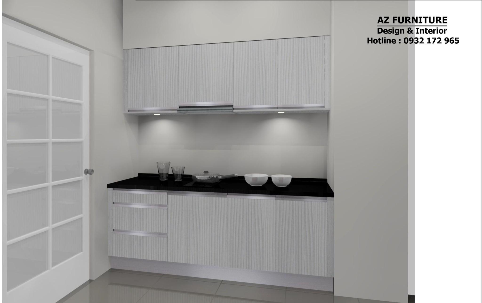thiết kế phòng bếp nội thất chung cư