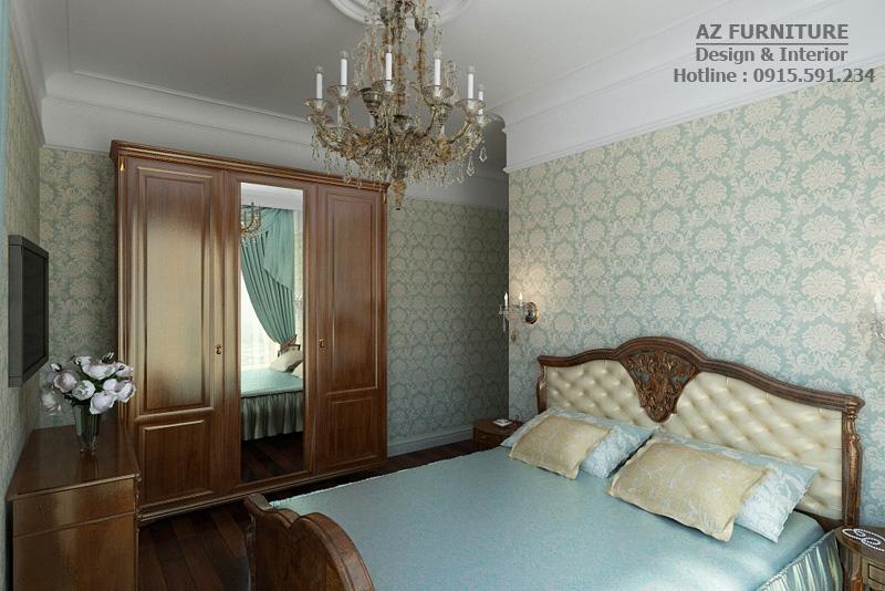 Thiết kế nội thất tân cổ điển - Hotline: 091 559 1234