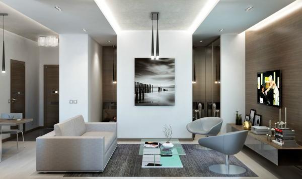Thiết kế nội thất chung cư mini cao cấp