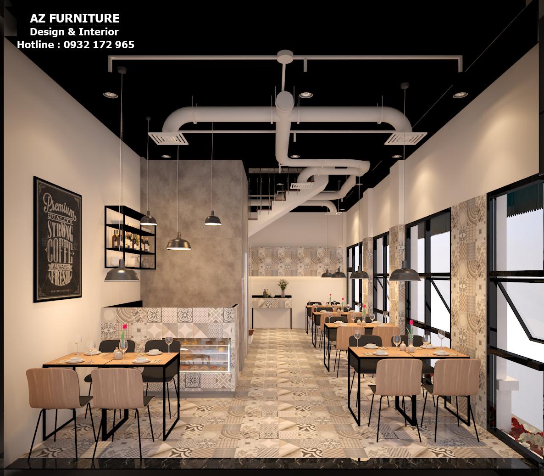 Thiết kế nội thất nhà hàng đẹp