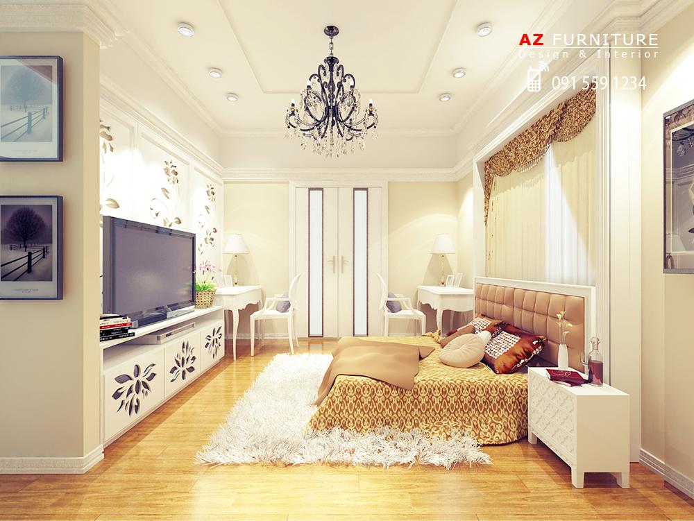 Thiết kế phòng ngủ cổ điển, tân cổ điển