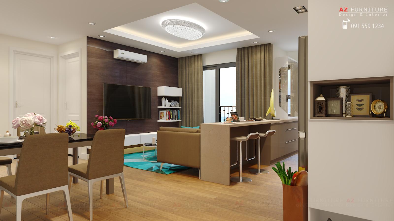 Tư vấn, thiết kế nội thất chung cư - Hotline: 091 559 1234