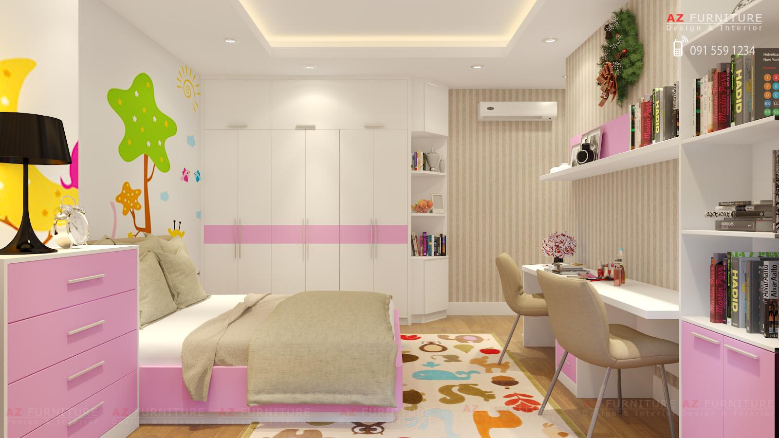 Tư vấn thiết kế nội thất chung cư hiện đại - Hottline: 091 559 1234