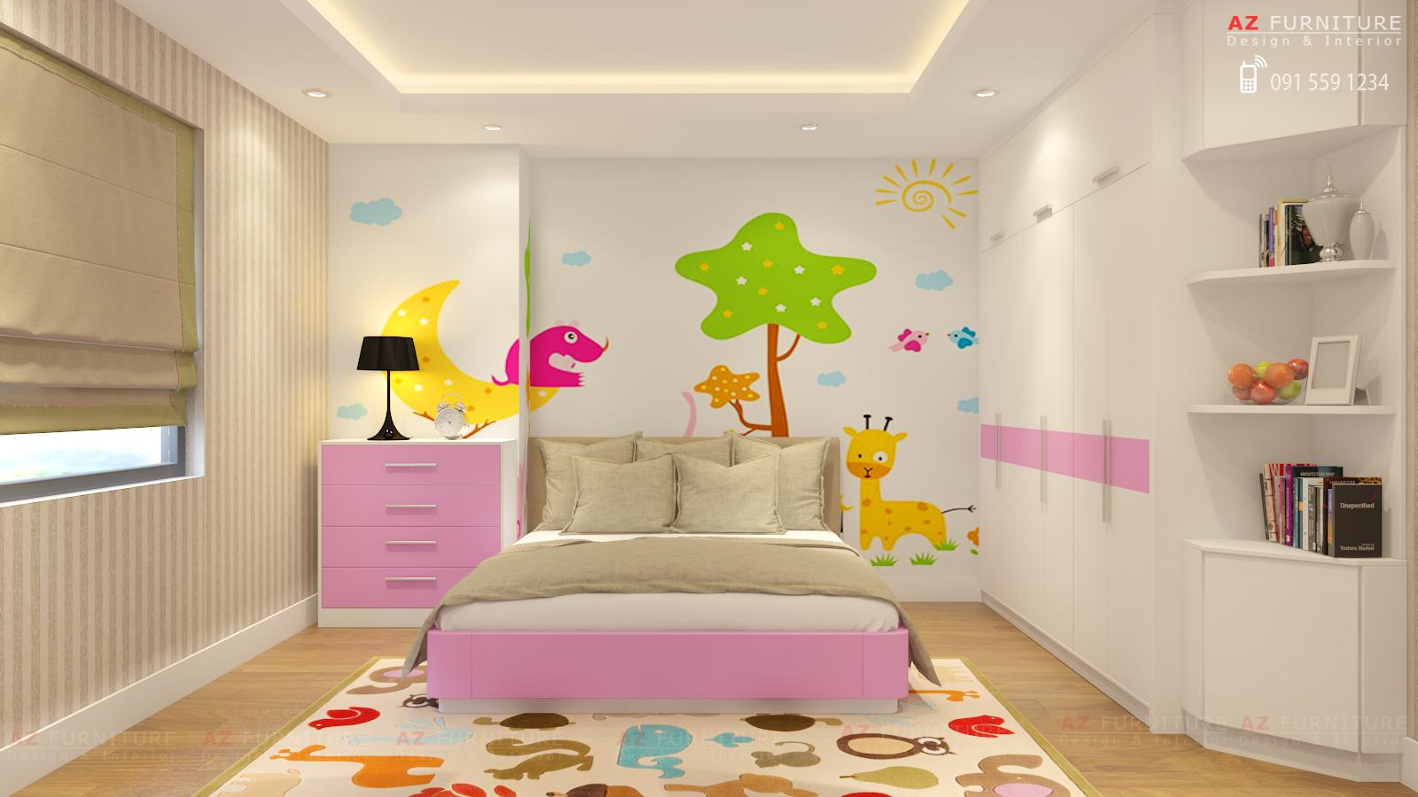 Tư vấn, thiết kế nội thất chung cư - Hottline: 091 559 1234