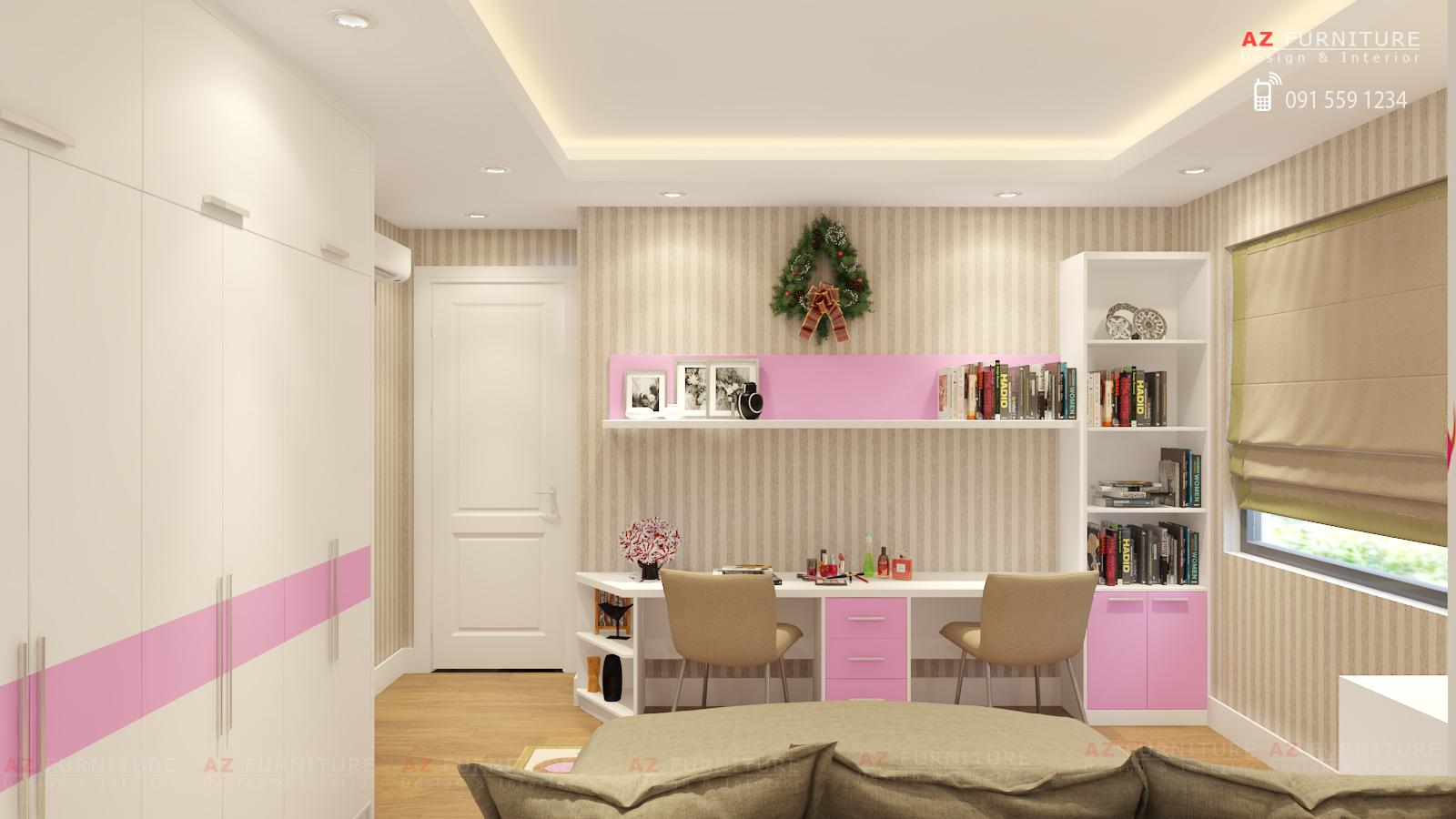 Thiết kế nội thất chung cư - Hottline: 091 559 1234