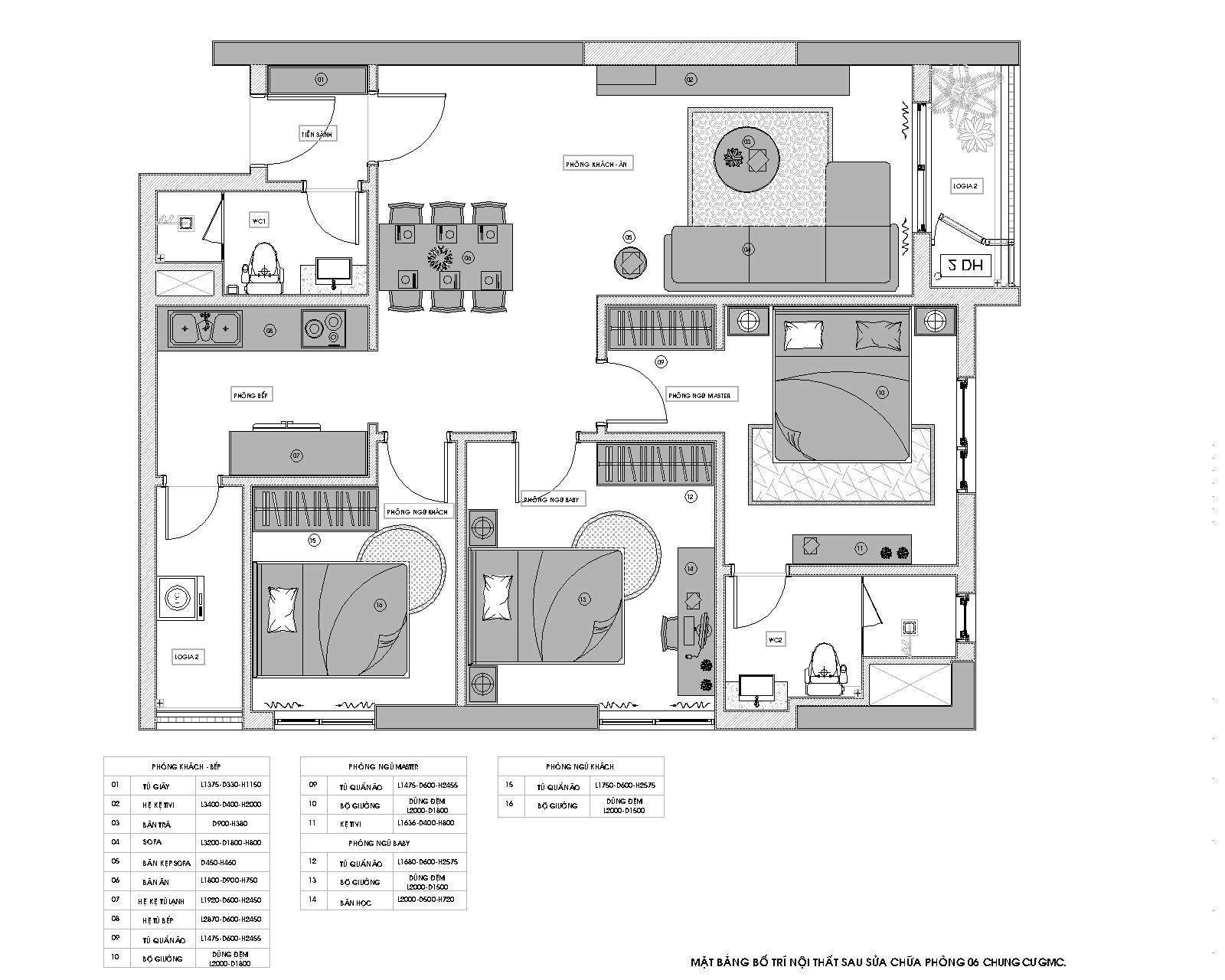 Thiết kế nội thất chung cư - Hotline: 091 559 1234